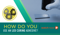 How Do You Use an LED Curing Adhesive?